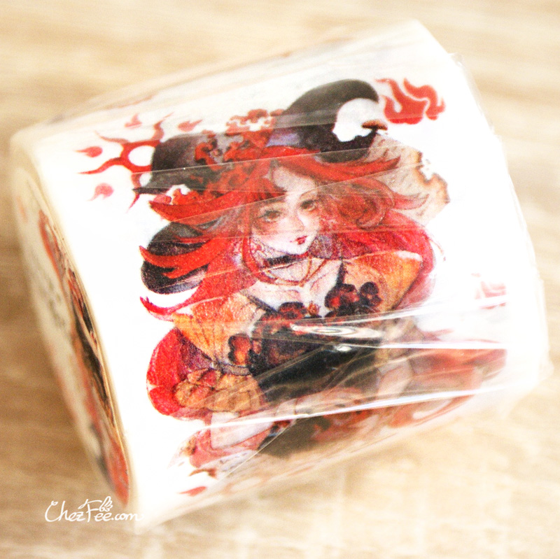 boutique kawaii shop chezfee fourniture papeterie washi masking tape magique sorcieres witch soiree 3