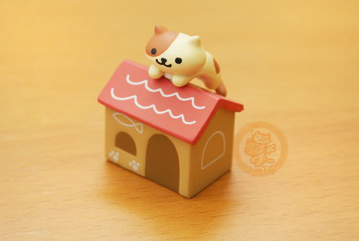boutique kawaii shop france chezfee com gachapon japonais cat neko atsume figurine peaches1