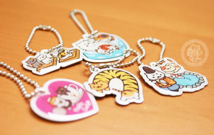 boutique kawaii shop france lille chezfee com gachapon capsule japonais authentique cat neko atsume charm strap6