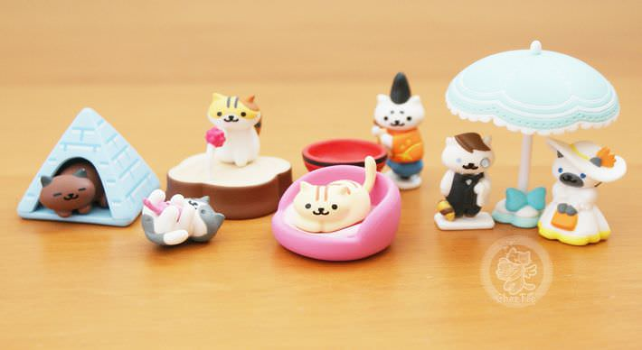 boutique kawaii shop france chezfee com gachapon japonais cat neko atsume figurine3 1