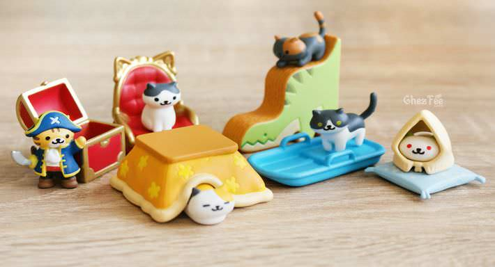 boutique kawaii shop france chezfee gachapon japonais neko atsume figurine version5 3
