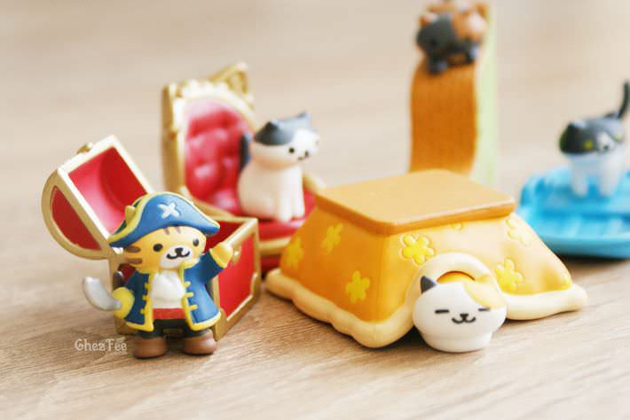 boutique kawaii shop france chezfee gachapon japonais neko atsume figurine version5 5