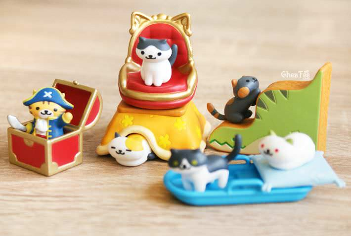 boutique kawaii shop france chezfee gachapon japonais neko atsume figurine version5 6