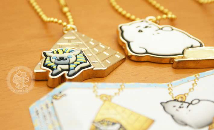 boutique kawaii shop france chezfee com gachapon japonais authentique neko atsume charm strap or3