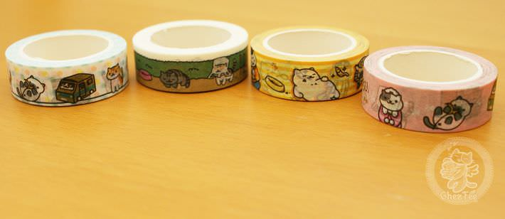 boutique shop kawaii france lille chezfee com washi masking tape chat neko atsume authentique4