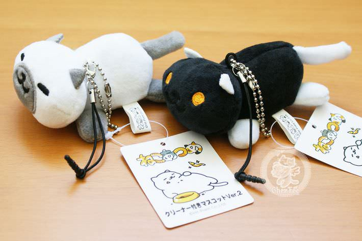 strap charm nettoyeur ecran mini peluche boutique kawaii shop cute france chezfee com neko atsume10