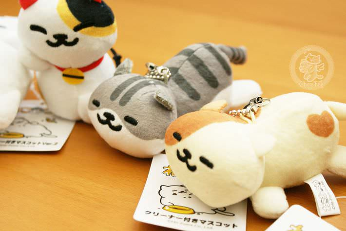 strap charm nettoyeur ecran mini peluche boutique kawaii shop cute france chezfee com neko atsume3