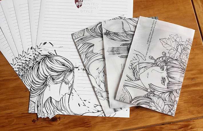 papier lettre kawaii boutique papeterie en ligne chezfee