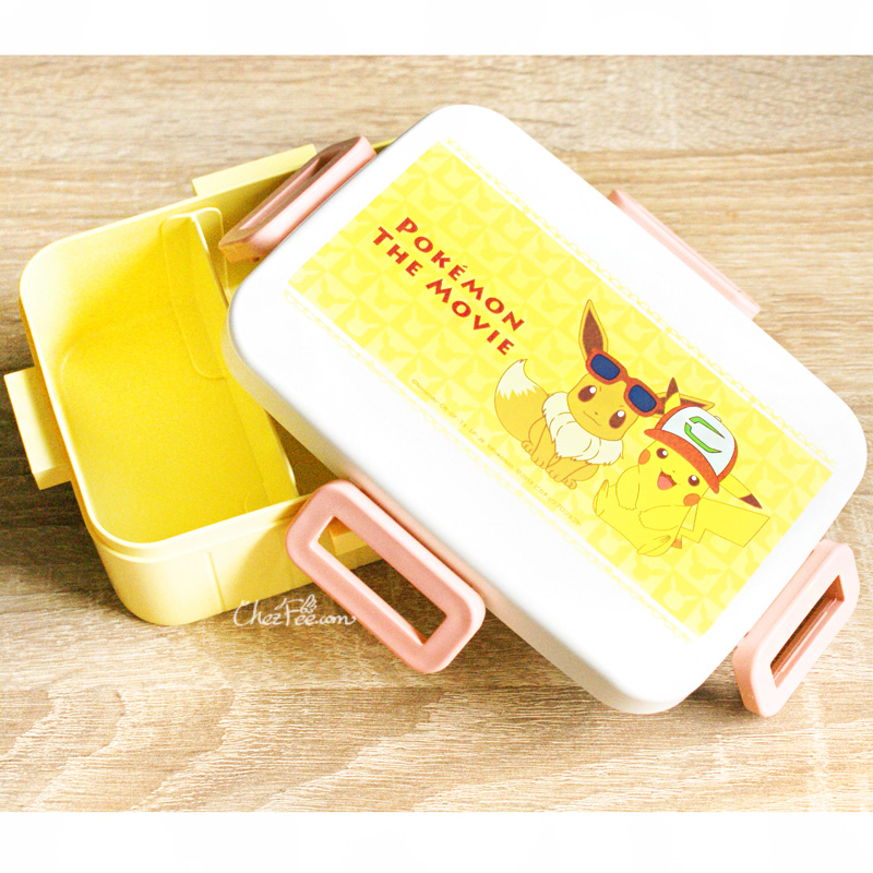 boutique kawaii shop chezfee pokemon licence pikachu evoli boite bento japonais made in japan 4