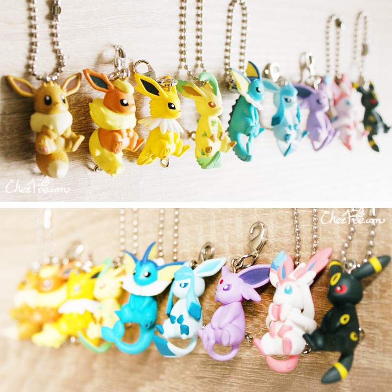 boutique kawaii objet shop chezfee pokemon officiel gashapon figurine evoli evolution 2