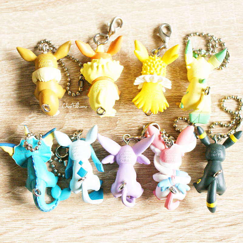 boutique kawaii objet shop chezfee pokemon officiel gashapon figurine evoli evolution 5