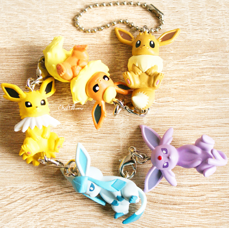 boutique kawaii objet shop chezfee pokemon officiel gashapon figurine evoli evolution 8