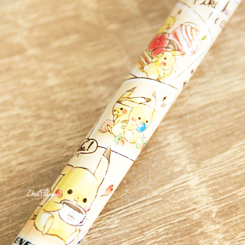 boutique kawaii shop cute chezfee stylo ballpen pokemon pikachu teatime 1