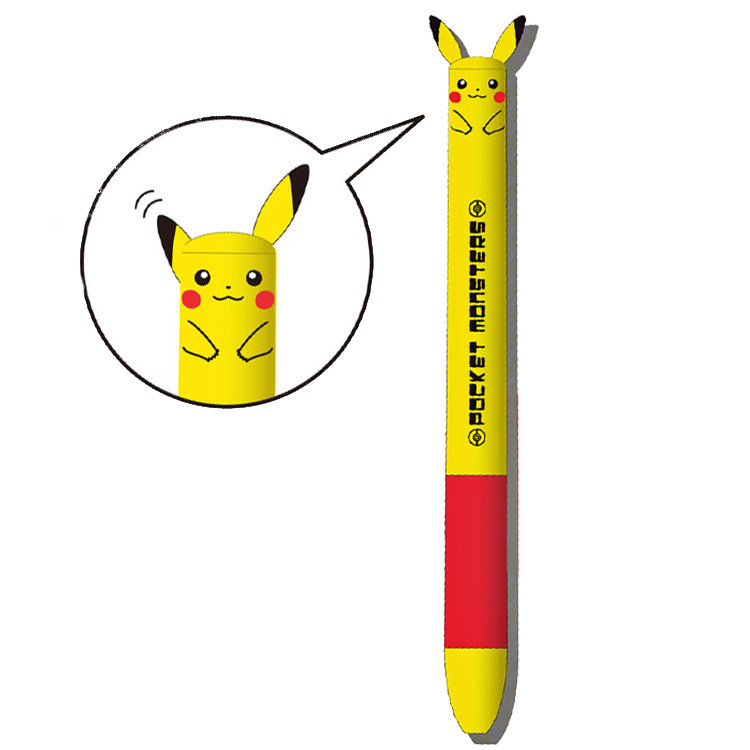 boutique kawaii shop cute chezfee stylo multi couleur pokemon pikachu 5