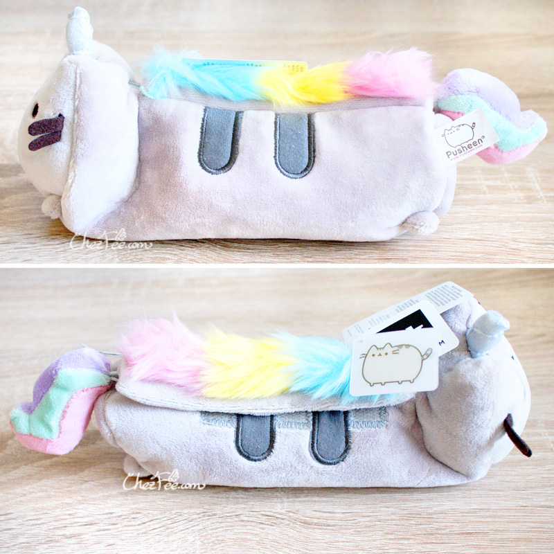 boutique papeterie fourniture kawaii shop france chezfee trousse peluche pusheen licorne officiel 3