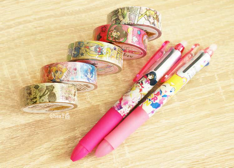 boutique kawaii shop cute chezfee france papeterie stylo masking tape sailor moon officiel authentique 1