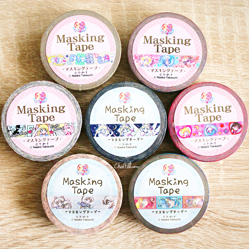 boutique kawaii shop chezfee france papeterie masking tape sailor moon officiel 2