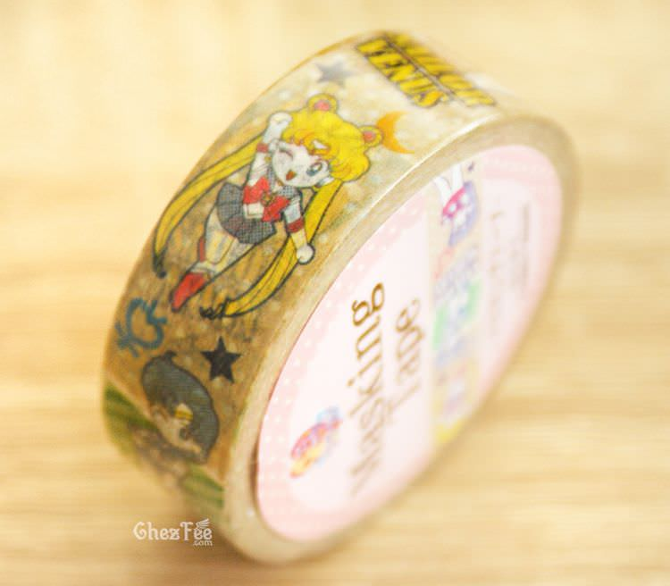 boutique kawaii shop cute chezfee france papeterie masking tape sailor moon officiel chibi 3
