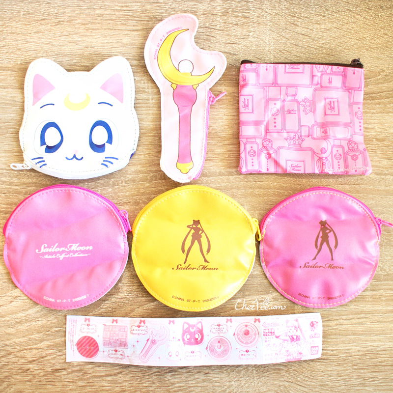 boutique kawaii shop cute sailor moon officiel gashapon pochette 2
