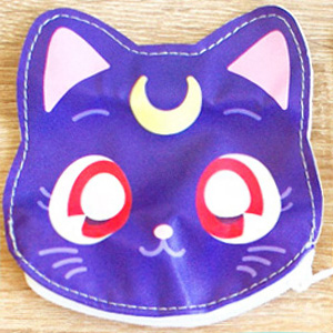 boutique kawaii shop cute sailor moon officiel gashapon pochette luna artemis