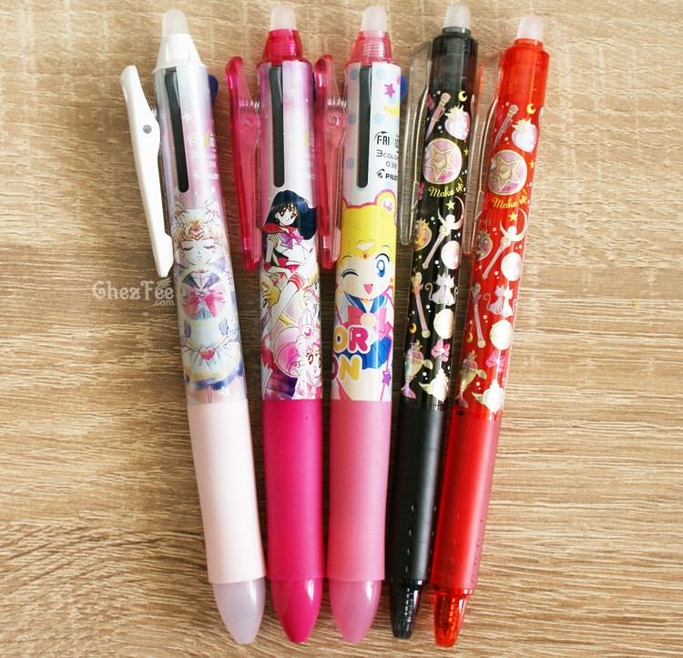 boutique kawaii shop cute chezfee france papeterie stylo pilot frixion sailor moon officiel 1