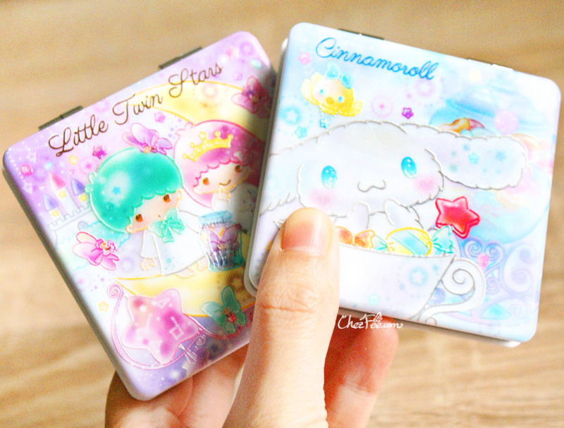 boutique kawaii shop france chezfee miroir poche sanrio officiel little twin stars cinnamoroll bonbon 3