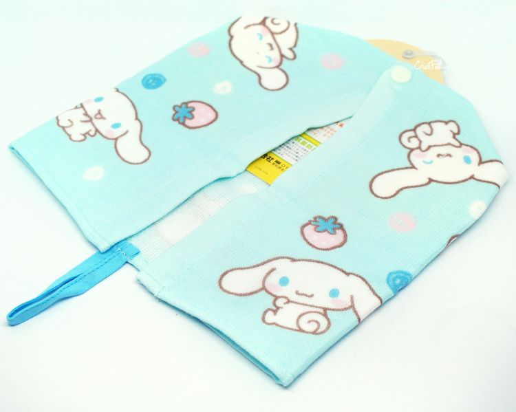 boutique kawaii shop chezfee sanrio cinnamorill serviette bebe coton 2
