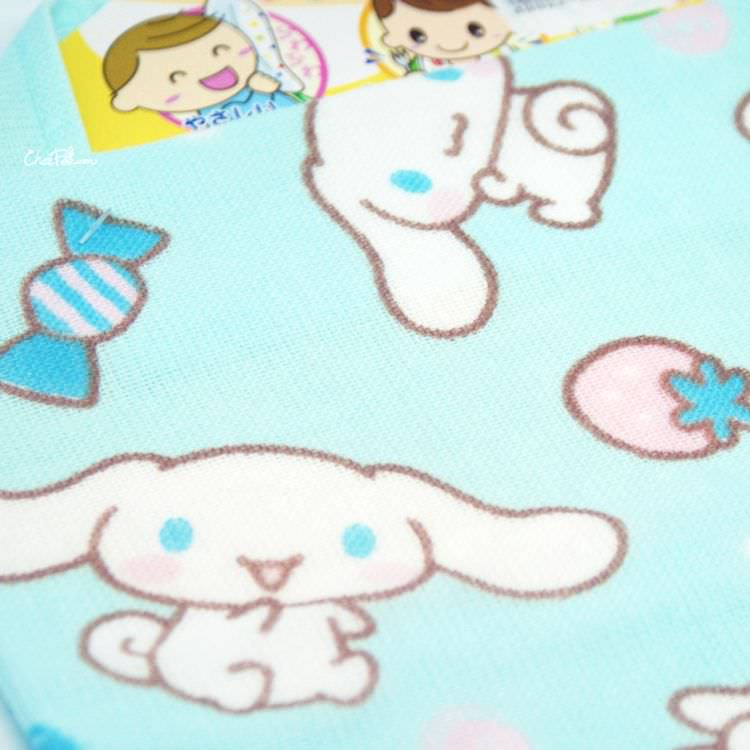 boutique kawaii shop chezfee sanrio cinnamorill serviette bebe coton 5