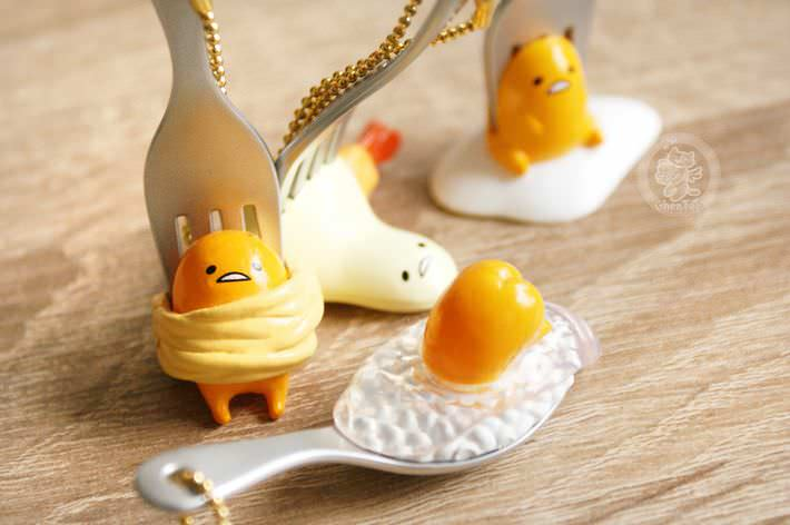 boutique kawaii shop chezfee porte cles gashapon miniature sanrio gudetama4