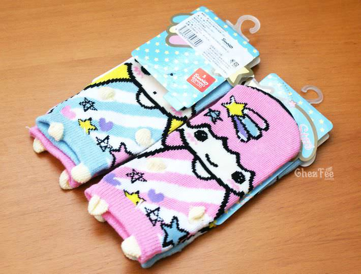 boutique shop kawaii france chezfee chaussette enfant amusantes fantaisie mignonnes little twin stars sanrio coton2