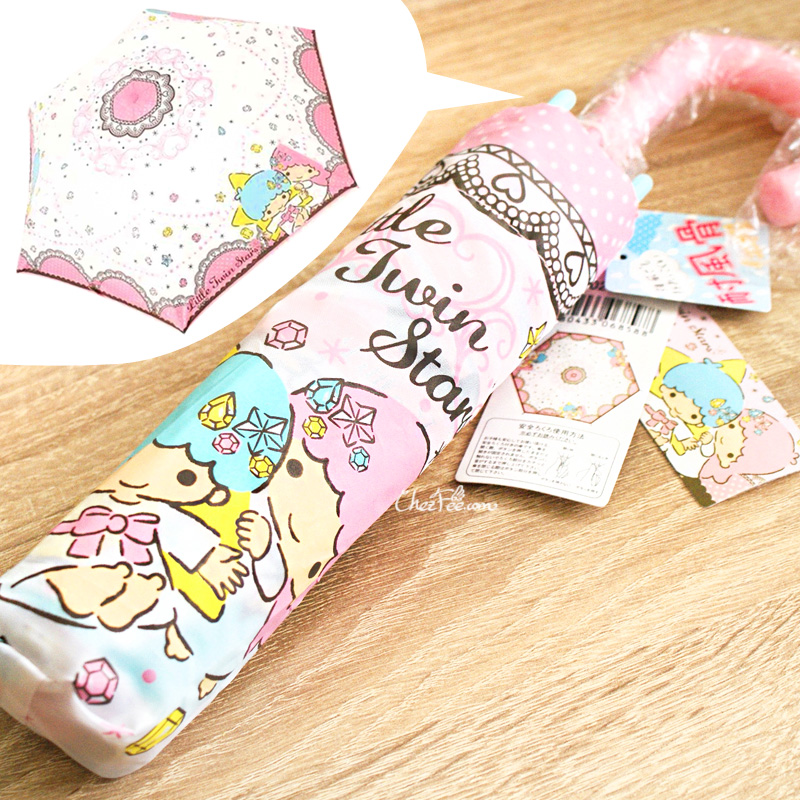 boutique kawaii france lille chezfee parapluie solide umbrella sanrio little twin stars lolita 1