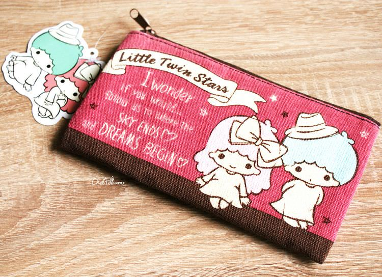 boutique kawaii shop papeterie chezfee sanrio officiel little twin stars trousse 1