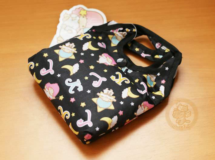 boutique kawaii shop en ligne chezfee com sac shopping pique nique picnic little stwin stars noir1