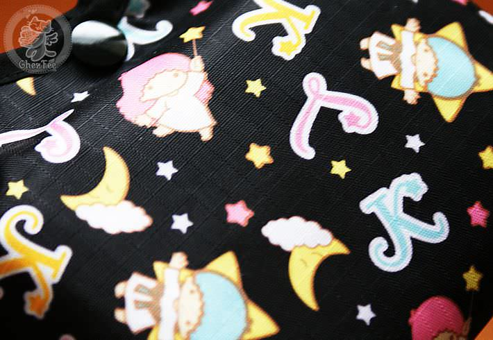boutique kawaii shop en ligne chezfee com sac shopping pique nique picnic little stwin stars noir2