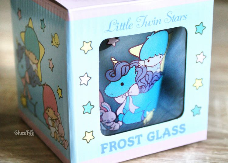 boutique kawaii shop chezfee verre sanrio authentique little twin stars licorne 1