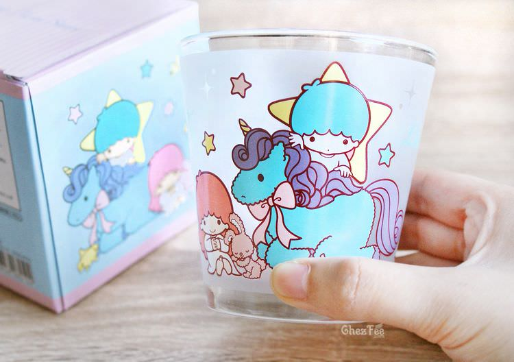 boutique kawaii shop chezfee verre sanrio authentique little twin stars licorne 4