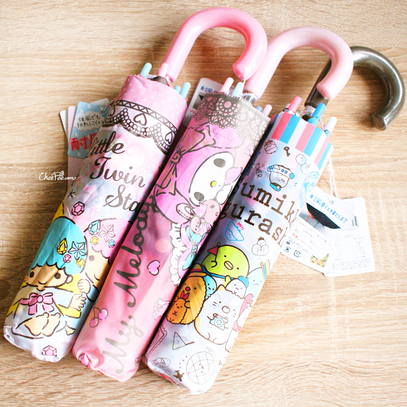 boutique kawaii france chezfee parapluie pliable umbrella sanrio sanx idees cadeaux 1