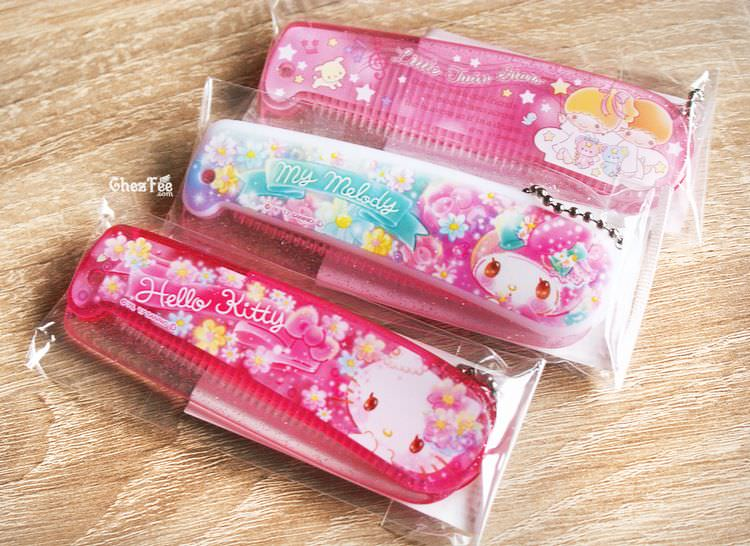 boutique kawaii shop chezfee sanrio officiel authentique brosse cheveux 1