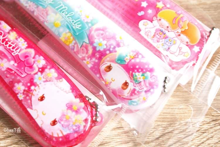 boutique kawaii shop chezfee sanrio officiel authentique brosse cheveux 3