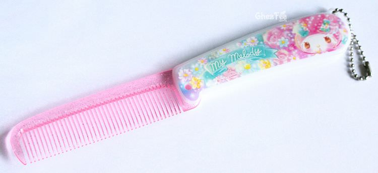 boutique kawaii shop chezfee sanrio officiel authentique brosse cheveux 5
