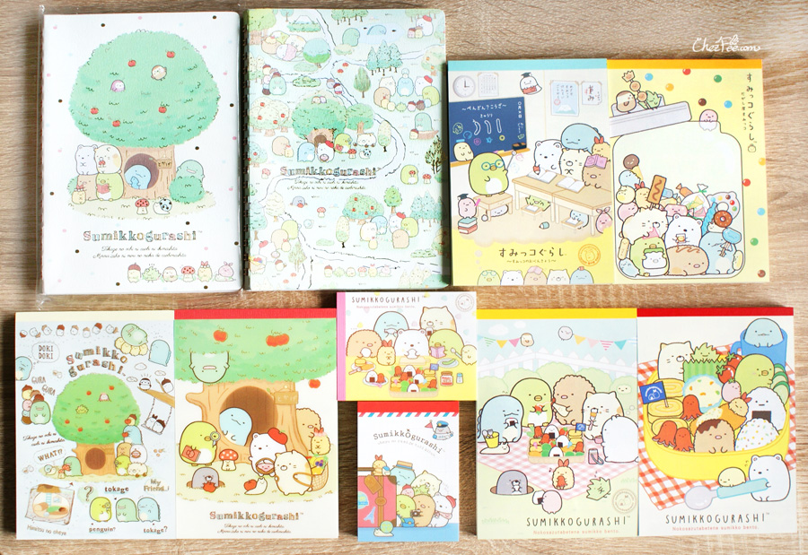 boutique kawaii shop cute sanx officiel papeterie japonaise sumikko gurashi 1s