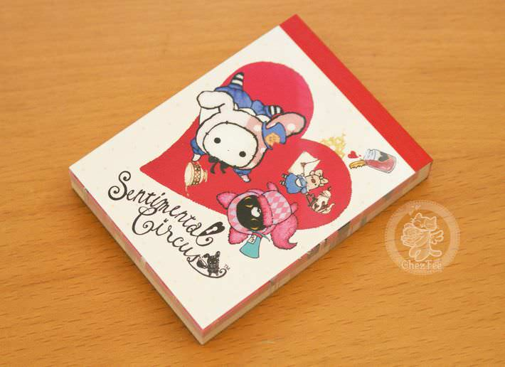 boutique papeterie fourniture kawaii shop en ligne chezfee com mini carnet sentimental circus alice reine coeur1