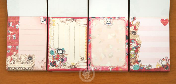 boutique papeterie fourniture kawaii shop en ligne chezfee com mini carnet sentimental circus alice reine3