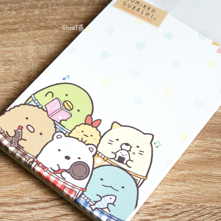 boutique kawaii shop cute chezfee sanx officiel carnet illustre sumikko gurashi bento 6
