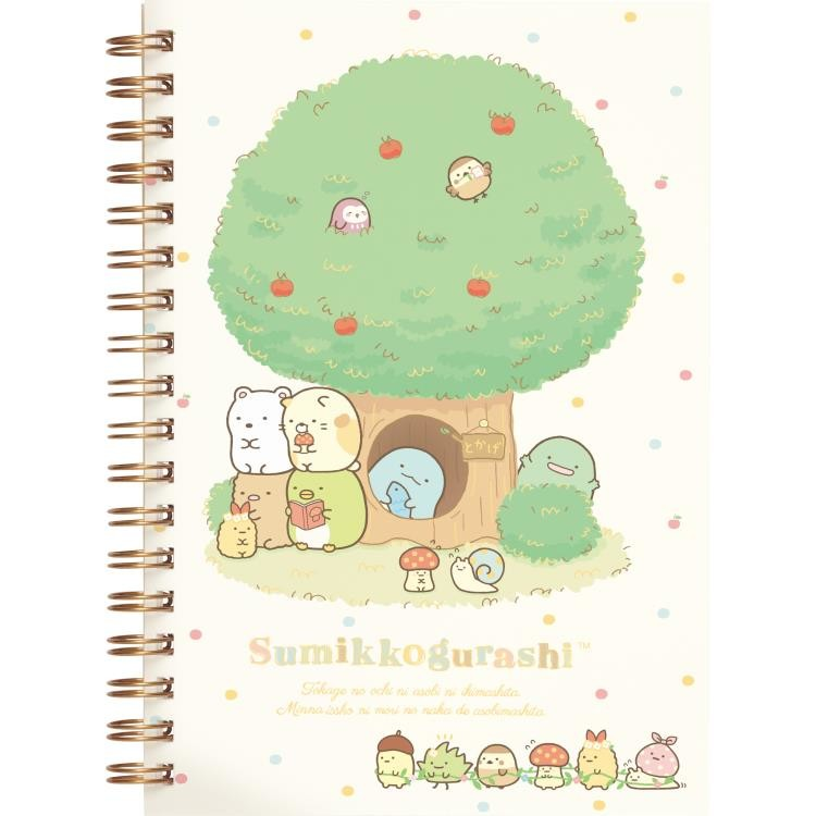 boutique kawaii shop cute chezfee sanx officiel carnet spiral sumikko gurashi foret fruits 1