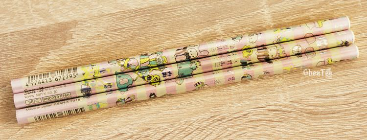 boutique kawaii shop cute chezfee papeterie crayon sentimental circus village elephant rose 1