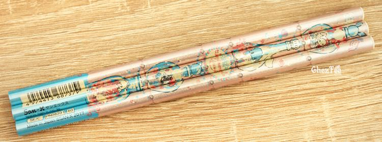 boutique kawaii shop cute chezfee papeterie crayon sentimental circus larme sirene rose 1
