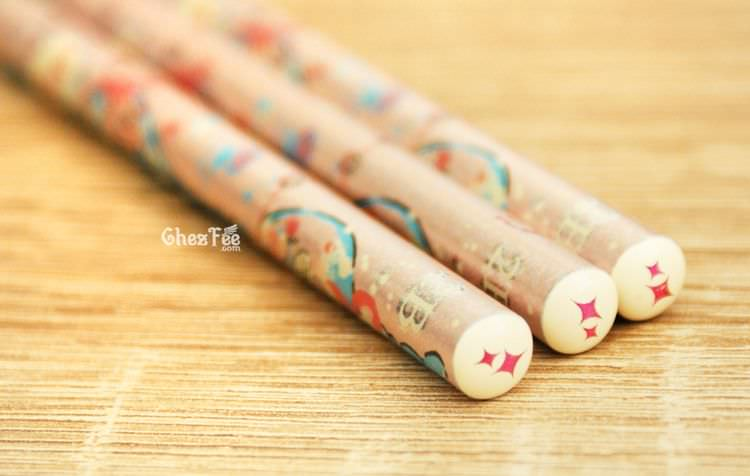 boutique kawaii shop cute chezfee papeterie crayon sentimental circus larme sirene rose 3