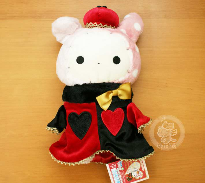 boutique kawaii shop chezfee com peluche sanx authentique sentimental circus reine coeur1