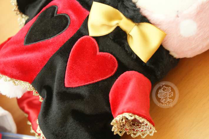 boutique kawaii shop chezfee com peluche sanx authentique sentimental circus reine coeur3